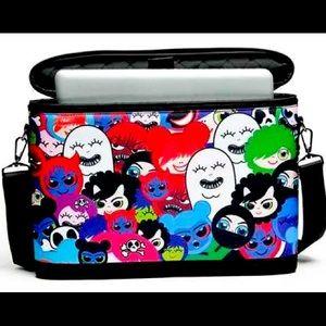 iSKIN HAPPY FRIENDS Silo Slim padded laptop bag